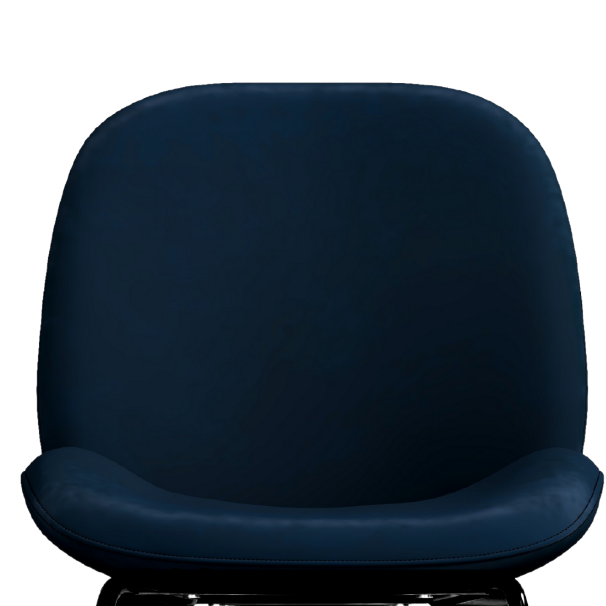 Avery Classic Blue Velvet Dining Chair Set of 2 - Evopia