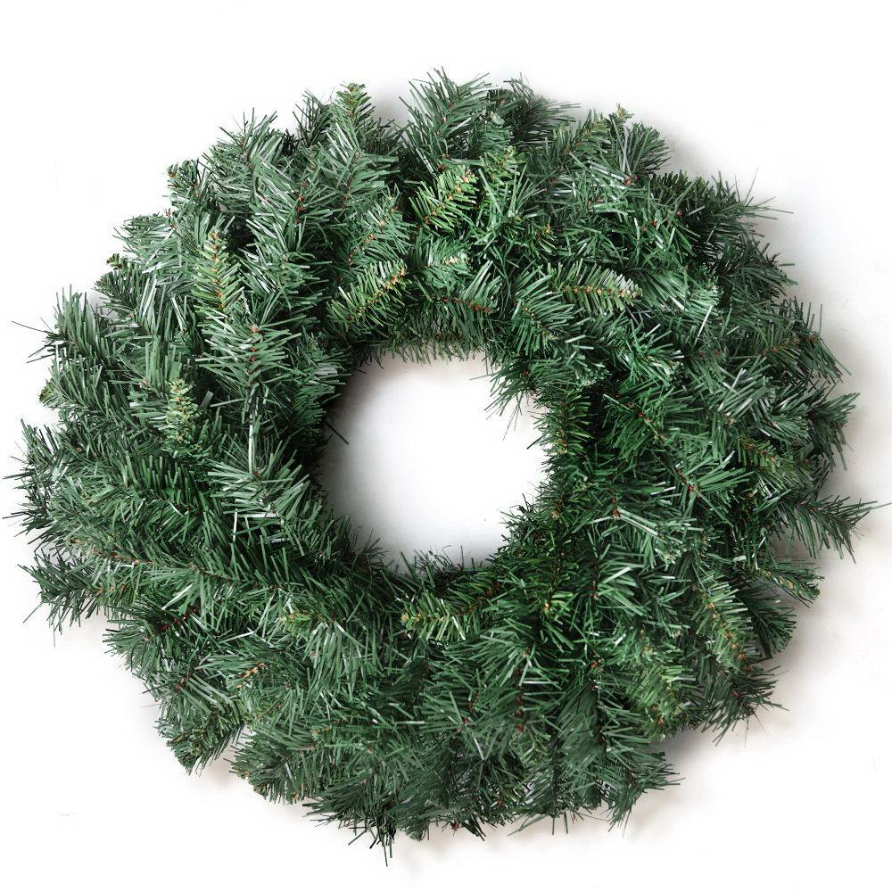 Jingle Jollys 60cm Christmas Wreath - Green