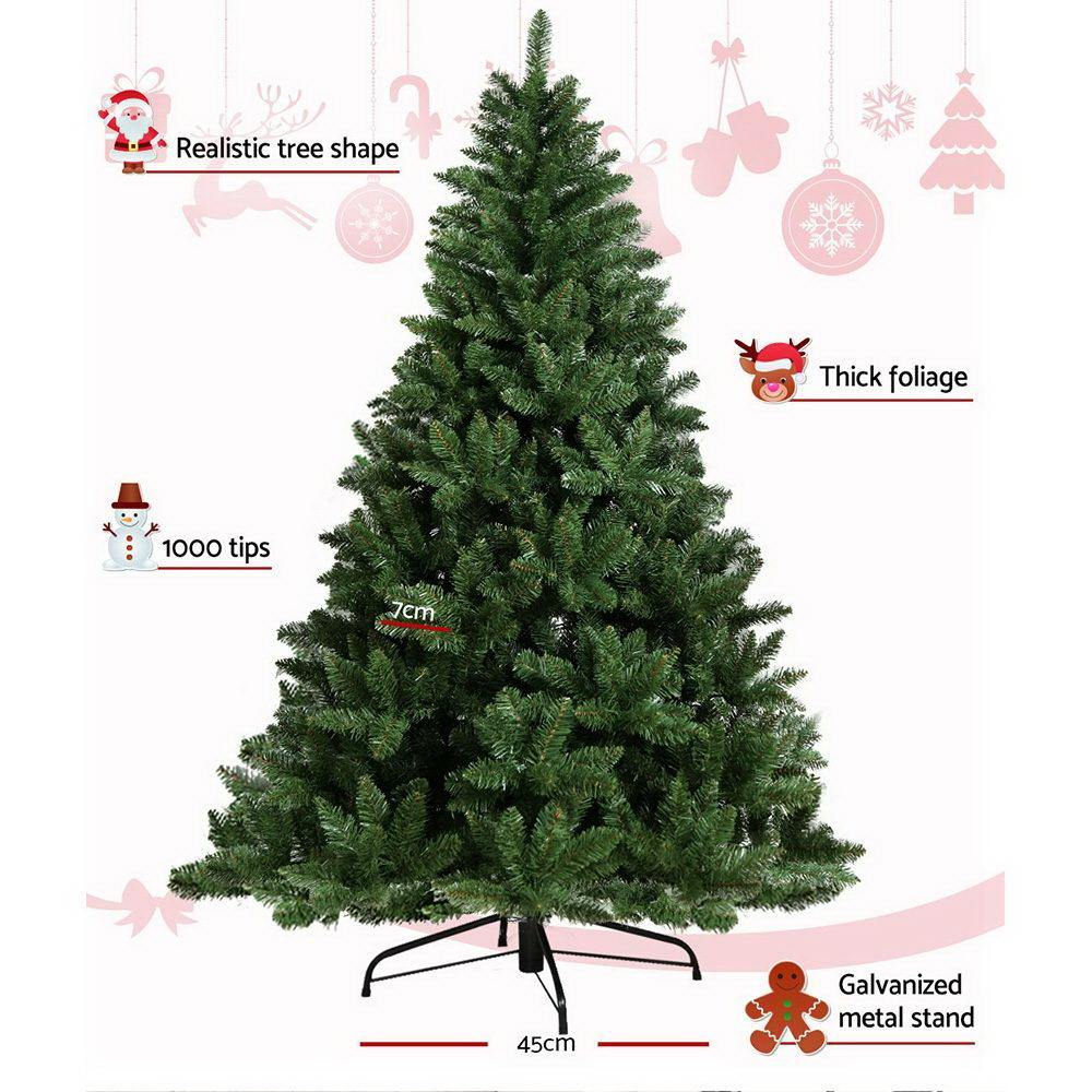 Jingle Jollys 7FT Christmas Tree - Green