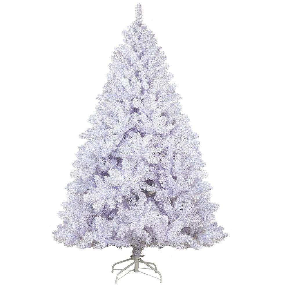 Jingle Jolly's White Christmas Tree Xmas Decorations Home Decor 2.1M 7FT