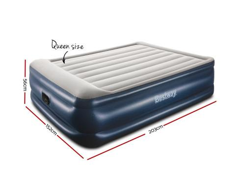 Bestway Queen Air Bed Inflatable Mattress - Evopia