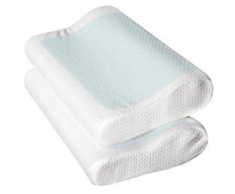 Contour Pillow Cool Gel Top Memory Foam (Set of 2) - Evopia