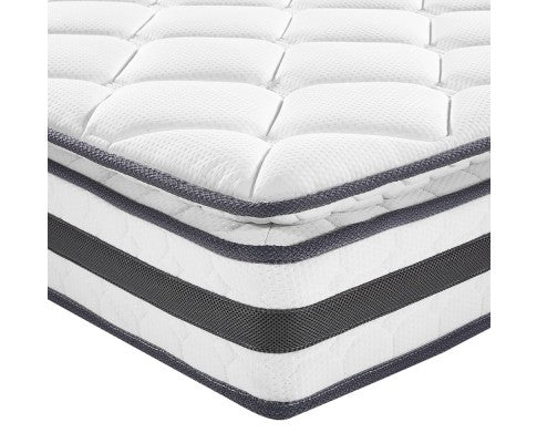 GISELLE BEDDING PILLOW TOP FOAM MATTRESS - DOUBLE