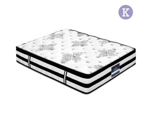 Premier Euro Cloud Top by Giselle Extra Thick Mattress King Size - Evopia