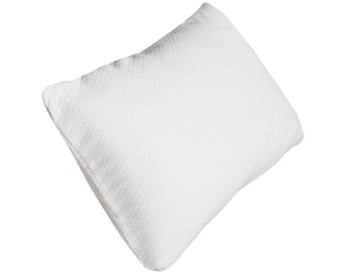 single memory foam filled pillow