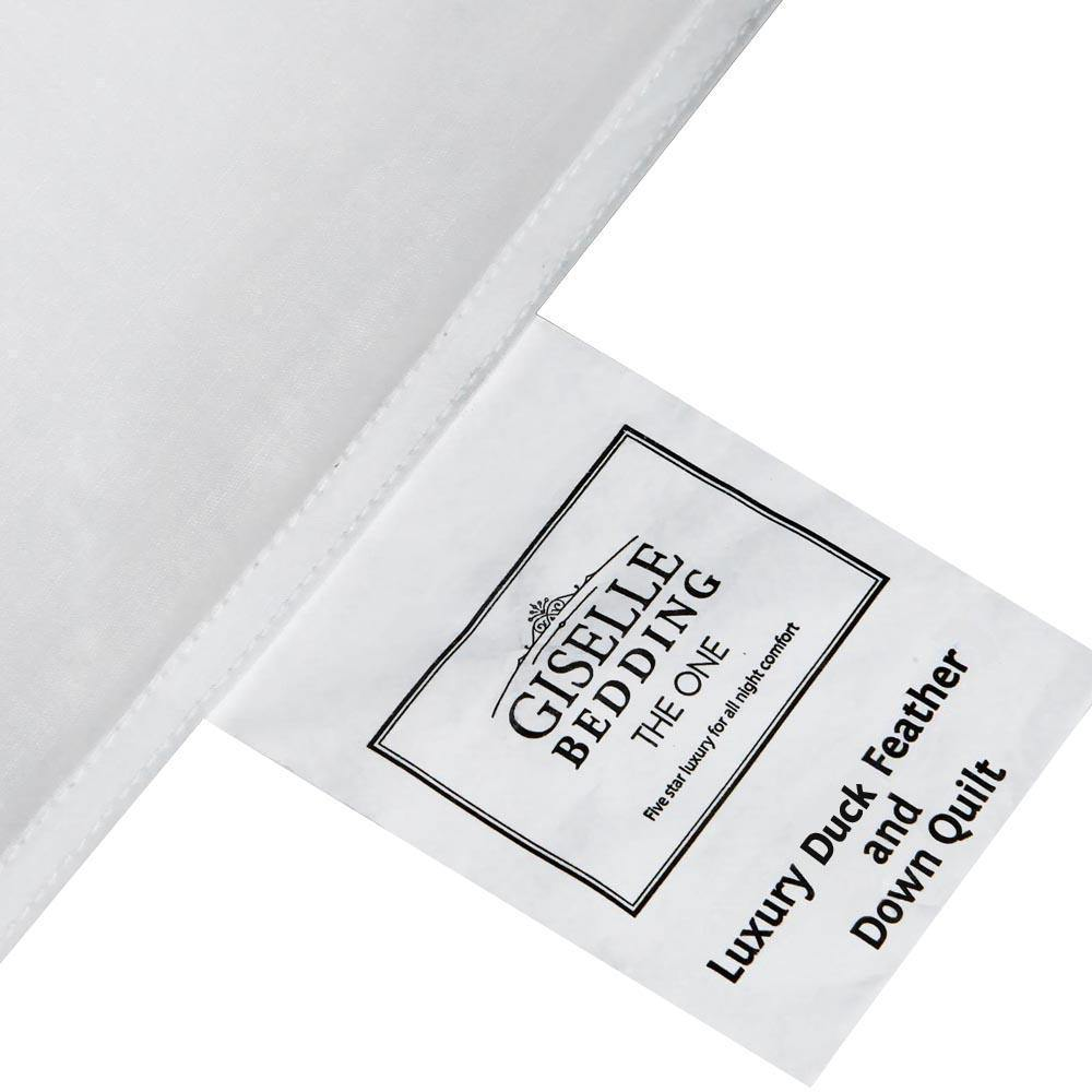 Giselle Bedding King Size Light Weight Duck Down Quilt Cover - Evopia