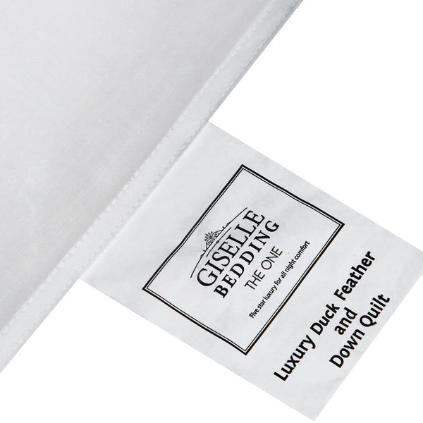 Giselle Bedding Queen Size Light Weight Duck Down Quilt - Evopia