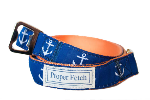 Blue Anchor Leash
