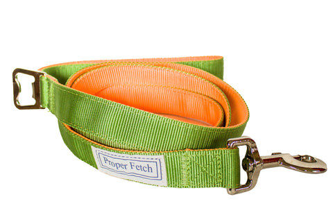 Green & Orange Leash