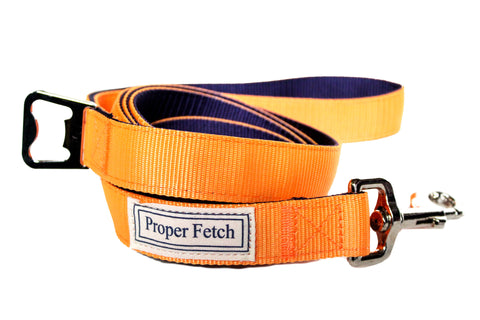 Orange & Navy Leash