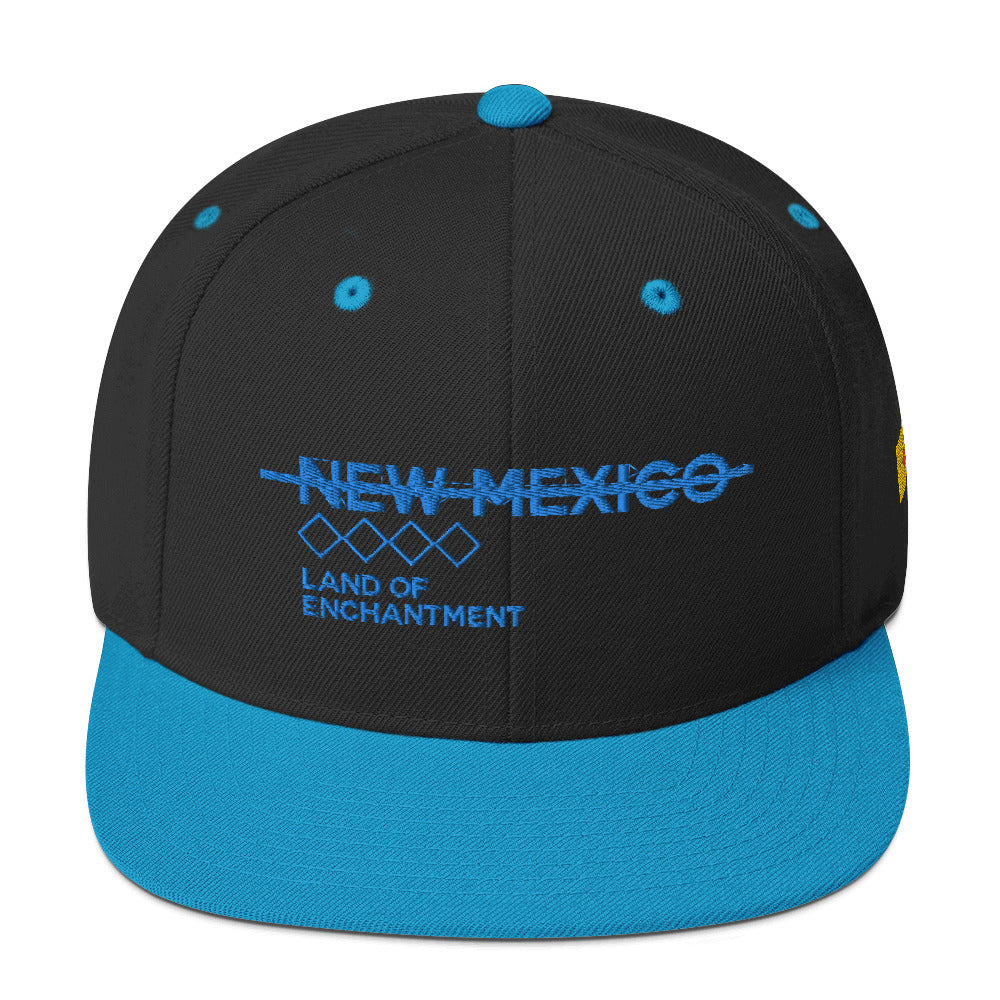 Land Of Enchantment Snapback Hat