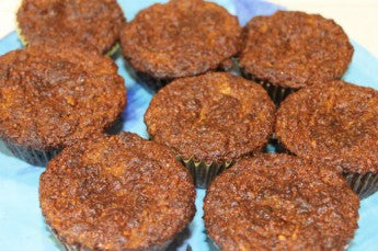 carrot banana muffins, what to do with overripe bananas, gluten-free recipes, almond flour muffins