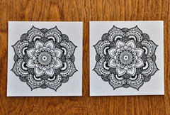 Mandala temporary tattoo - Trailer Boutique