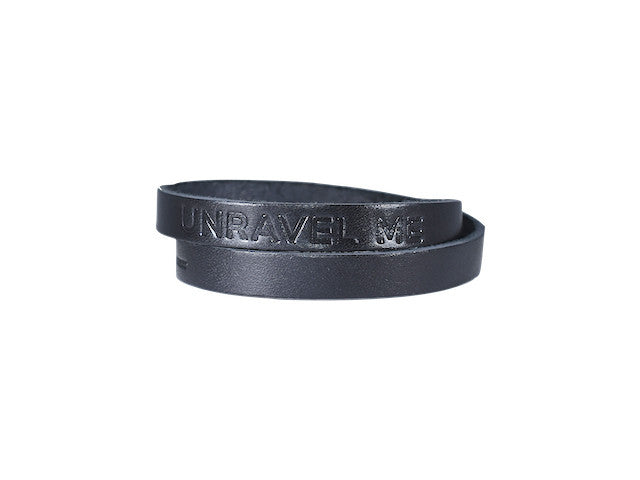 Unravel Me Black Wrap Bracelet - Trailer Boutique