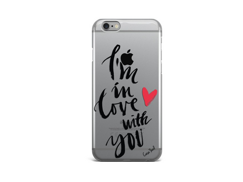 I'm in love with you iphone case - Trailer Boutique