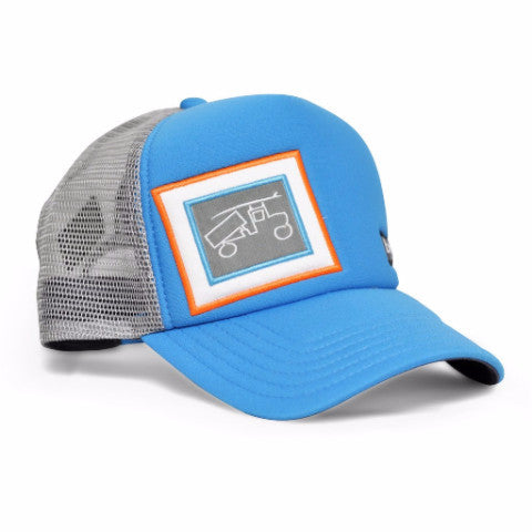 Trucker Blue and Grey Hat - Trailer Boutique