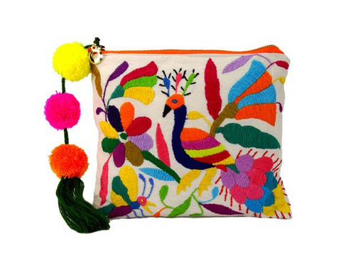 Multicolor Otomi Pouch - Trailer Boutique