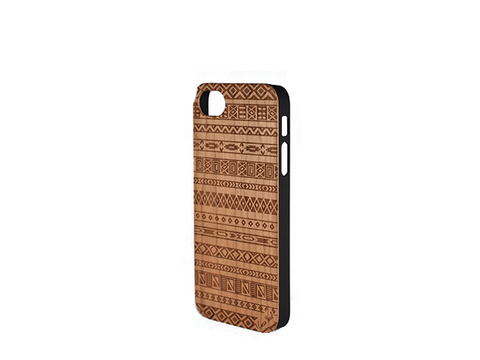 Aztec Wood iphone 5 case - Trailer Boutique
