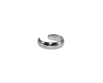 Wide Silver Band 5mm Toe Ring - Trailer Boutique