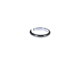 3mm Silver Toe Ring - Trailer Boutique