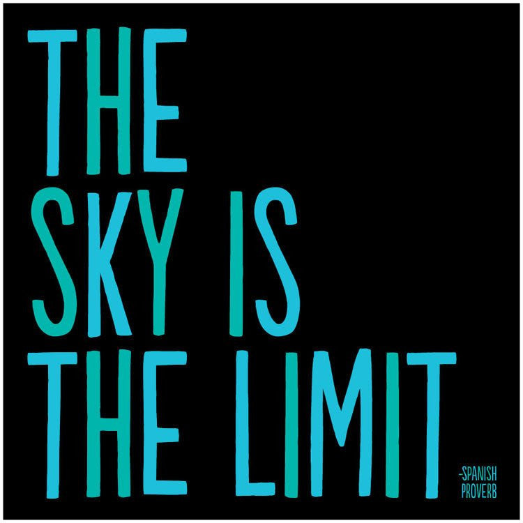 The Sky Is the Limit Magnet - Trailer Boutique