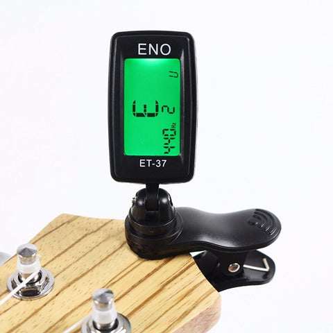 Clip-On Digital Tuner - FREE OFFER - Guitar Accessories - Top Buys Direct