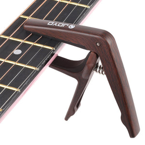 JOYO Guitar Wood Grain Capo - Guitar Accessories - Top Buys Direct