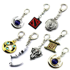 DotA2 Metal Keychains -  - Top Buys Direct