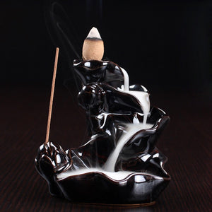 Hand Made Ki Flow Ceramic Incense Burners - Incense - Top Buys Direct