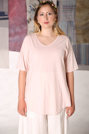1211 Lightweight A-Line Layer Tee-Sweet Unprinted