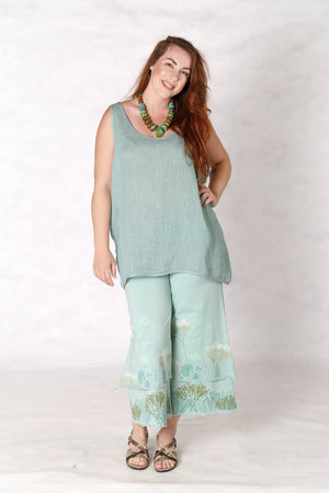 3239 Wide Petaloon Mint-P