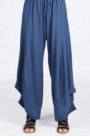 3142 Organic Cotton Lounge Pant Indigo UnPrinted