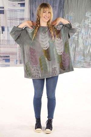 1251 HD Hand Dyed Feather Language Tee P
