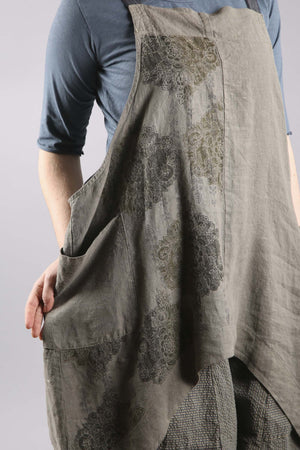 6202A Linen Stockholm Midlayer Illite Printed