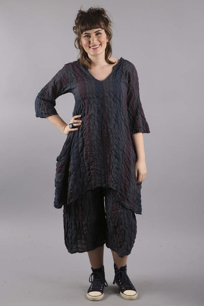 Morning Glow Tunic Graphite-7160B