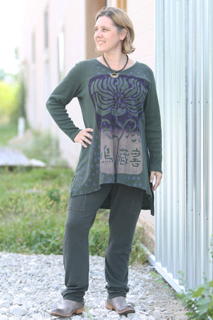 2293 Thermal Voyages Tunic-Sequoia-P