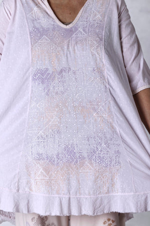 2300 Flounced Bliss Tunic-Sweet-Printed