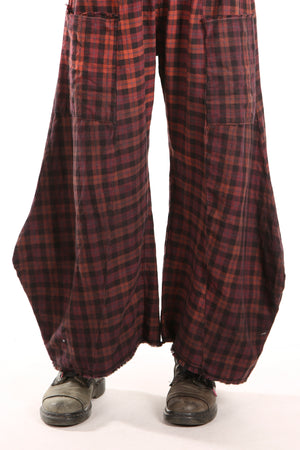 3159P Plaid Klee Pant Pomme/Ombre Unprinted