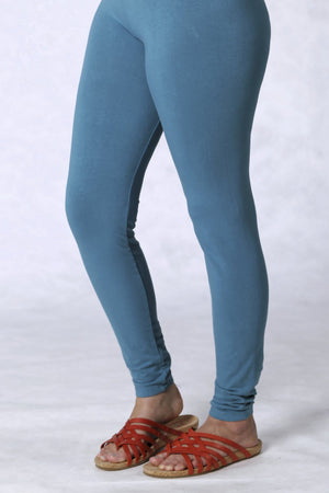 3136 Lightweight Leggings-Teal-U