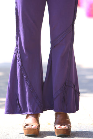 3295 Patchwork Pant-Mystic Purple-Unprinted