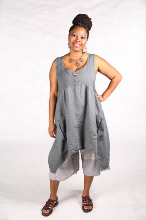 6185-Mulberry Mid Layer Linen Moonwater-Unprinted