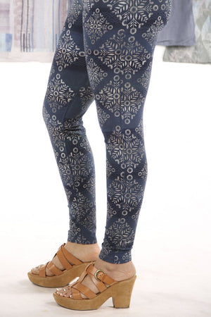3136 Lightweight Leggings-Indigo-P