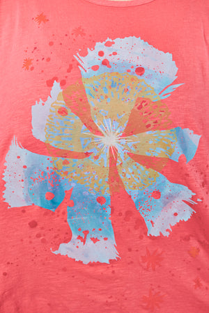 1145 Paradise Tee Coral