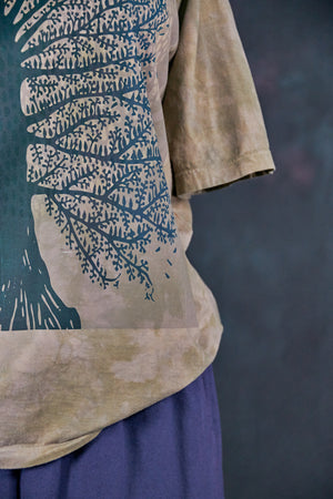 1171HD Fiona Tee-Sage Tree East West-Printed