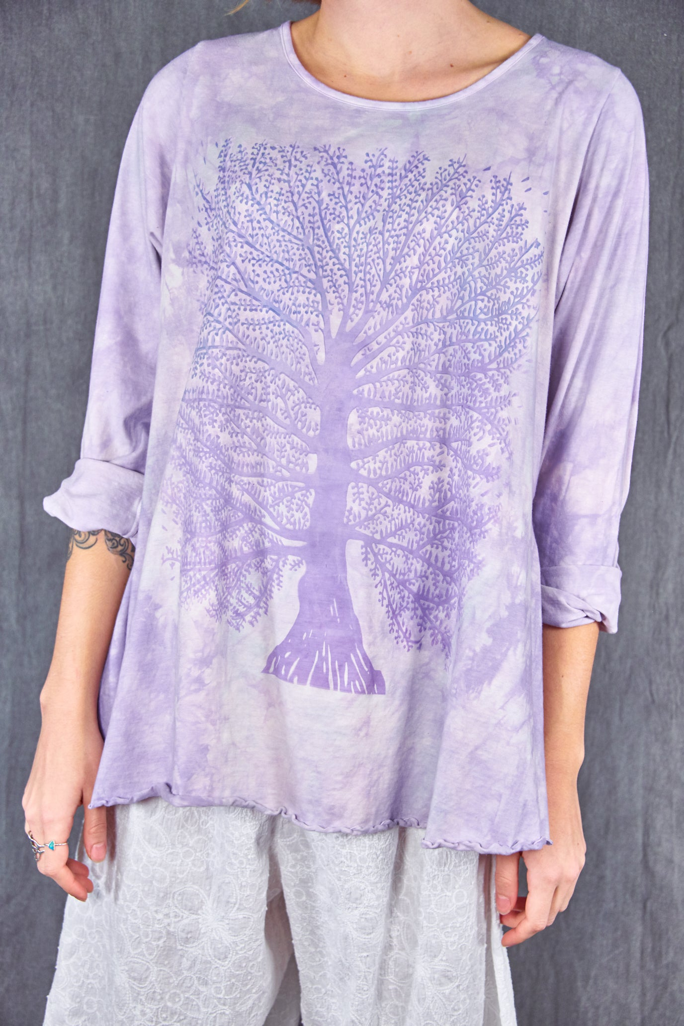 1190HD Cafe Tee Lavender-P