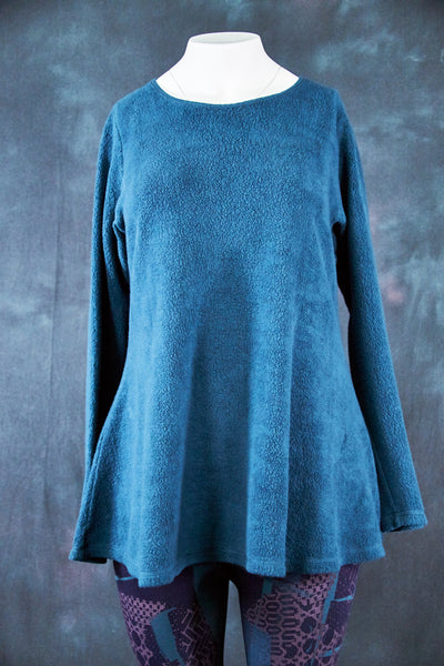 1190 The Ellis Sherpa Tunic Teal-U