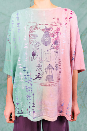 1236HD Line Tee-Honeydew-Garden Party