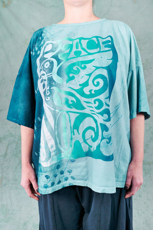 1236HD Line Tee-Sky Blue-Peace Bay