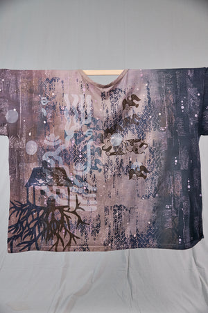 1236HD Line Tee Coffee-Sand-Ink 28.5L   Ancient Fairy Tale