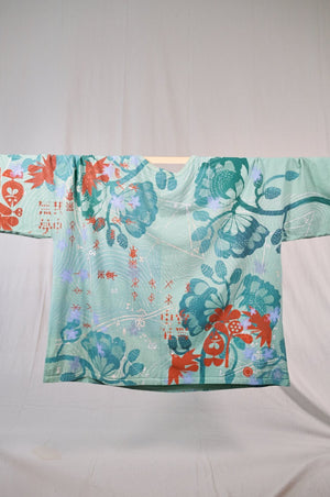 1236HD Line Tee-Runic Swedish Floral Mint 28